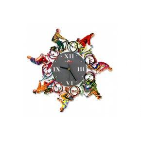 David Gerstein Riding Time Wall Clock