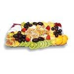 Assorted Fruits and Sushi Tray