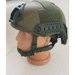 Green Light Fast Bulletproof Ballistic Helmet Level IIIA