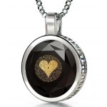 925 Sterling Silver I Love You in 120 Languages Nano Jewelry