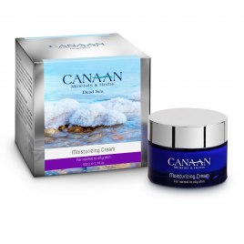 Canaan Silver Line Moisturizing Cream with Dead Sea Minerals Normal to Oily