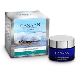 Canaan Silver Line Moisturizing Cream with Dead Sea Minerals Normal to Dry