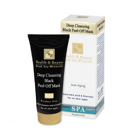 Health & Beauty Deep Cleansing Black Peel-Off Mask