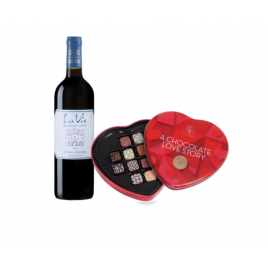 Max Brenner Castel Red Wine And Pralines Gift Box