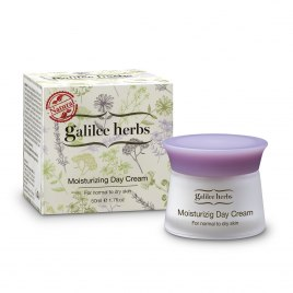 Galilee Herbs Natural Moisturizing Day Cream for Normal to Dry Skin
