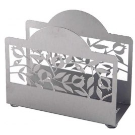 Dorit Judaica Pomegranate Metal Cutout Napkin and Bencher Holder