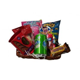 Kids Purim Goodies and Snacks Basket