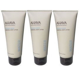 AHAVA Minerals, Set of 3 Body Lotions