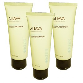 AHAVA Foot Cream - Set of 3 Super Saver Deal