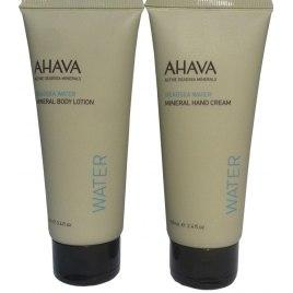 AHAVA Value Set Hand Cream and Body Lotion, Dead Sea Cosmetics