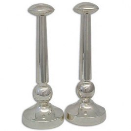 Aliza Series Shabbat Candlesticks Classic with a Modern Touch