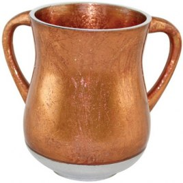 Bronze Color Aluminum Elegant Washing Cup