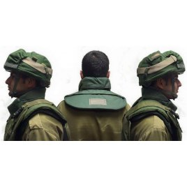 Bullet Proof and Stab Proof Neck and Shoulders Protection Level IIIA SP1