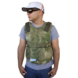 Bullet Proof Vest Super Light Super Thin  Level III-A FRONT