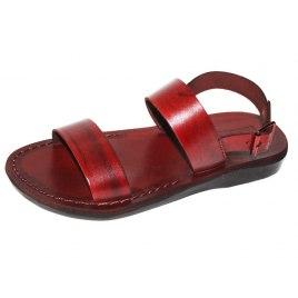 Double Strap Front Adjustable Back Strap Biblical Sandals -.Regev