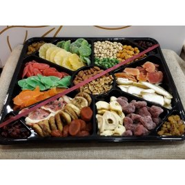 Dried Fruits Sushi Platter