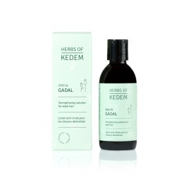 Kedem Cosmetics Gadal Organic Hair Strengthening Solution