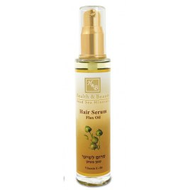 Health and Beauty Dead Sea Cosmetics Flaxseed Oil Hair Serum