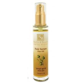 Health and Beauty Dead Sea Cosmetics Flaxseed Oil Hair Serum