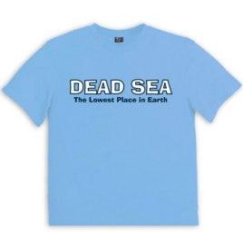 Israeli T Shirt  Dead Sea