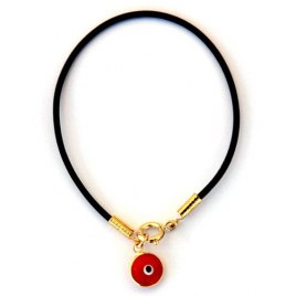 Kabbalah bracelet with Gold Protectvie Eye Pendant