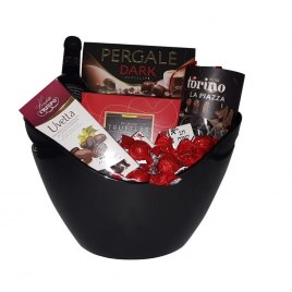 Dark and Elegant Gift Basket