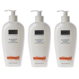 Natural Sea Beauty - Set of 3 Mineral Body Moisturizer