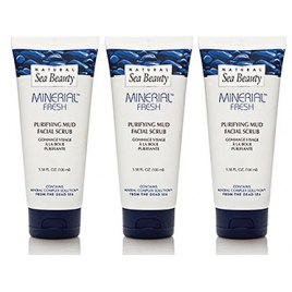 Set of 3 Purifying Mud Facial Scrub by Natural Sea Beauty