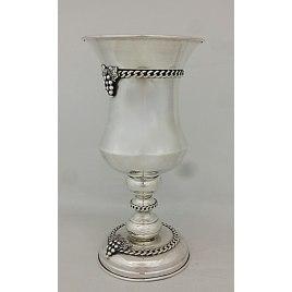 Sterling Silver Grapes Elijah Cup