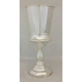 Sterling Silver Ribbed Elijah Cup