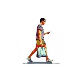David Gerstein Sculpture Apple Man